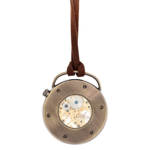 Leather Pocket Watch