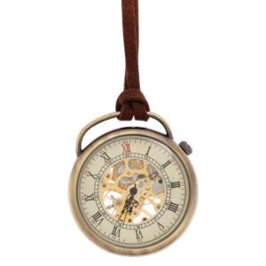 Leather Pocket Watch