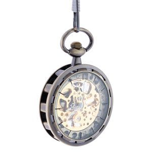 Patterned Pocket Watch