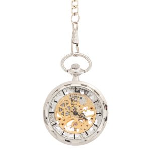 Silver Gold Pocket Watch